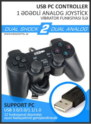 PC Analog Joystick 1 ədədli