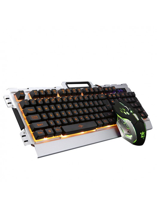 Oyun Klaviaturası və Mouse K33 LED İşıqlandırma ilə