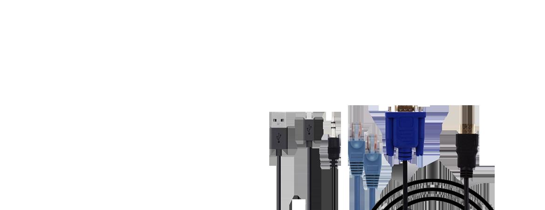 """<p  style=""""font-size: 18px""""> HDMI / VGA / DVI / OPTIK <br> DisplayPort / AUX KABEL / <br> Adapter və digər<br> kabel məhsulları </p>"""